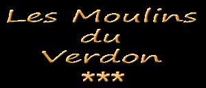 Gîte les Moulins du Verdon