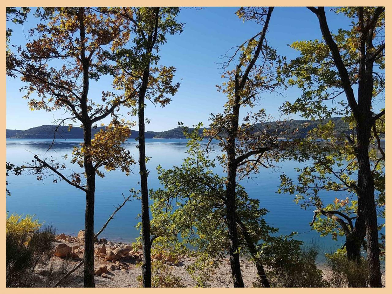 Le lac fin octobre